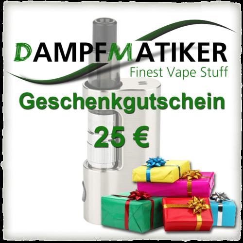Dampfmatiker-Geschenkgutschein