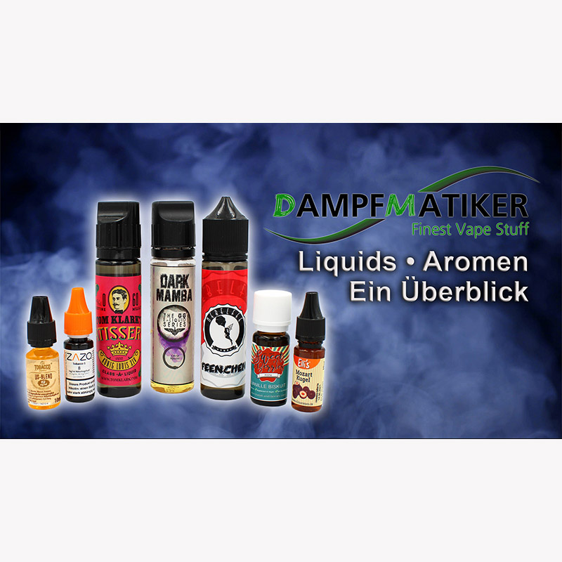 Dampfmatiker Video Liquids Aromen