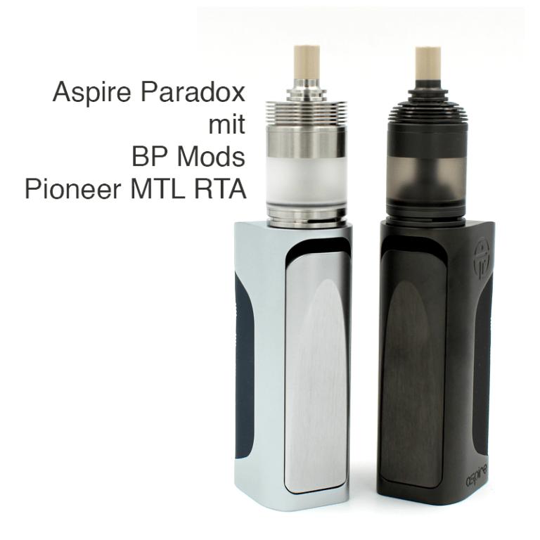 Aspire Paradox Mod Pioneer