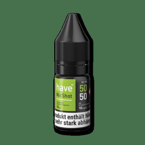 have Nikotin Shot 50/50