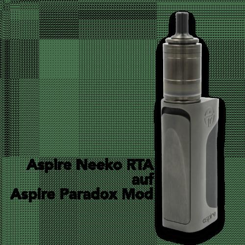 Aspire Neeko MTL RTA Aspire Paradox Mod Dampfmatiker