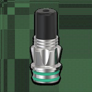Ambition Mods Shield Driptip black schwarz Dampfmatiker