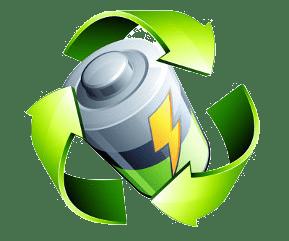 Batterieentsorgung Recycling Dampfmatiker