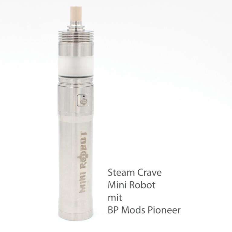 Steam Crave Mini Robot Mod Pioneer