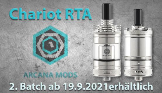 Chariot RTA 2. Batch Dampfmatiker